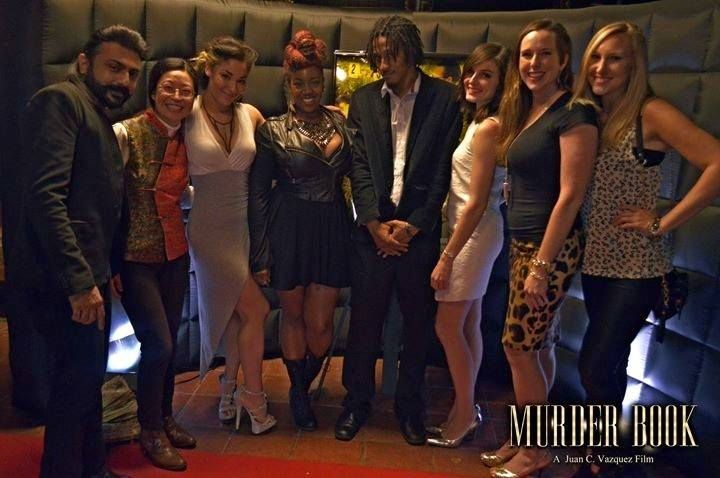 Sydnee-Jane featured with Cast & Crew at the Red Carpet After Party