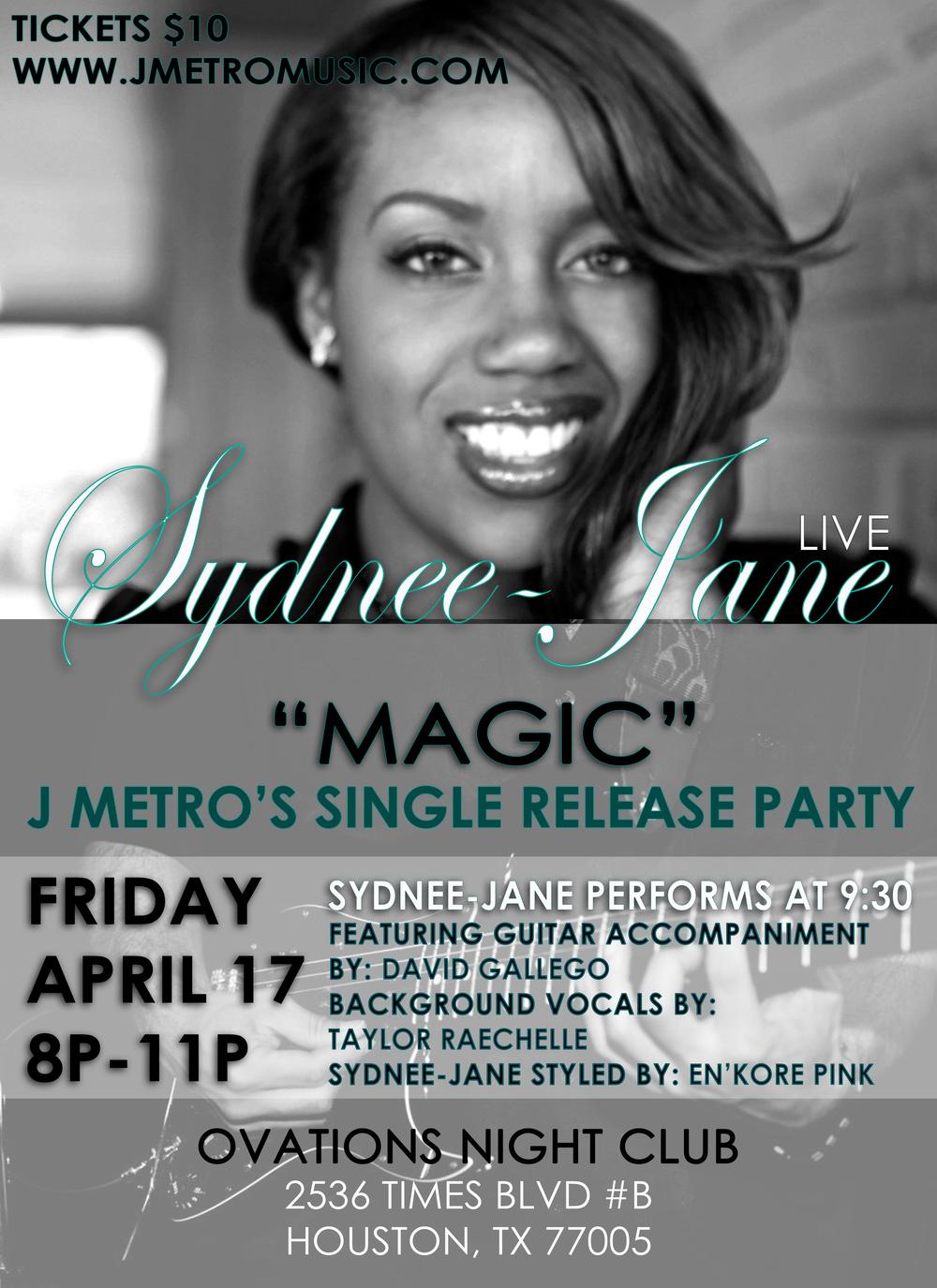 Sydnee Jane Live