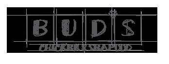 Bud's Chicken & Seafood - logo rebrand proposal sketch