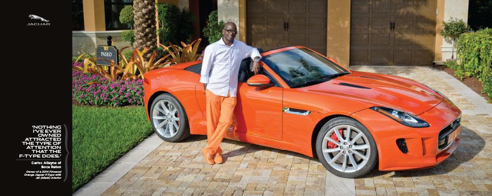 Jaguar Palm Beach - photoshoot Carlos
