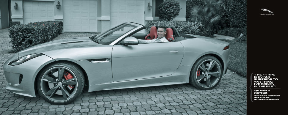 Jaguar Palm Beach - photoshoot Ryan