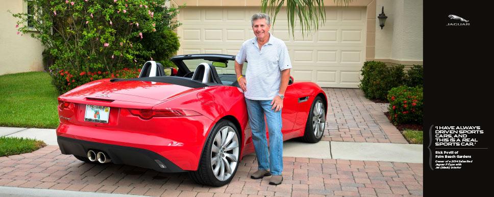 Jaguar Palm Beach - photoshoot Rick