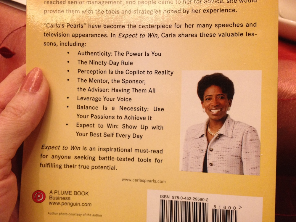 Carla Harris book