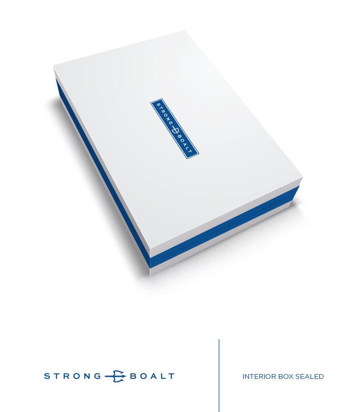 Strong Boalt - packaging design