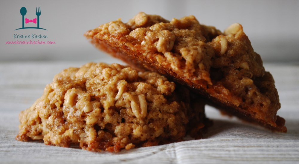 Caramelized Brown Butter Oatmeal Cookies with Rum Soaked Oat