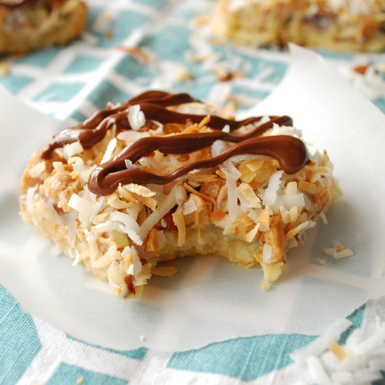 7 Layer Almond Delight Bars
