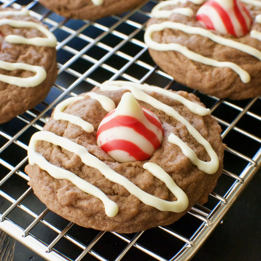 Peppermint Hot Chocolate Cookies - Kristin's Kitchen
