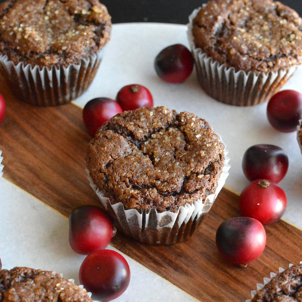 Spiced Molasses Muffins