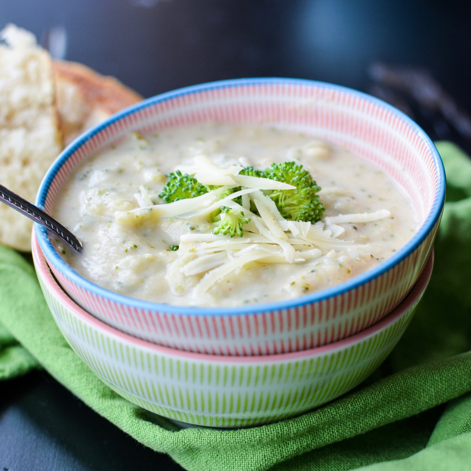 Hidden Vegetable Broccoli Cheddar Soup