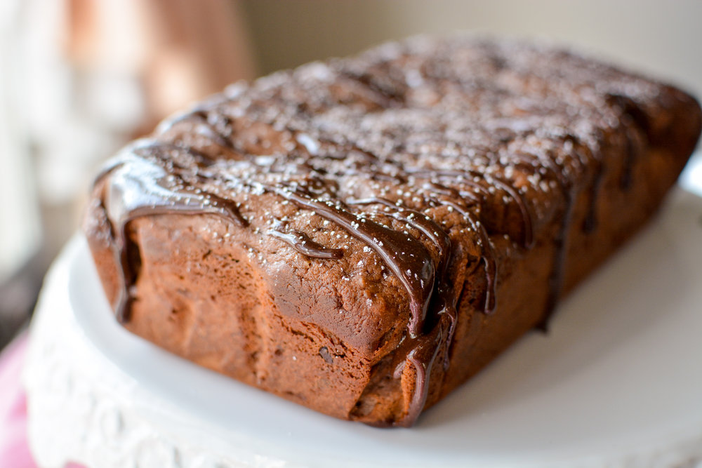 Irish Cream Hot Chocolate Loaf