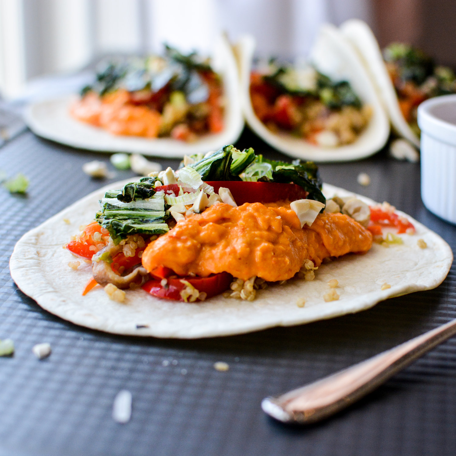 Thai Red Curry Vegetable Tacos