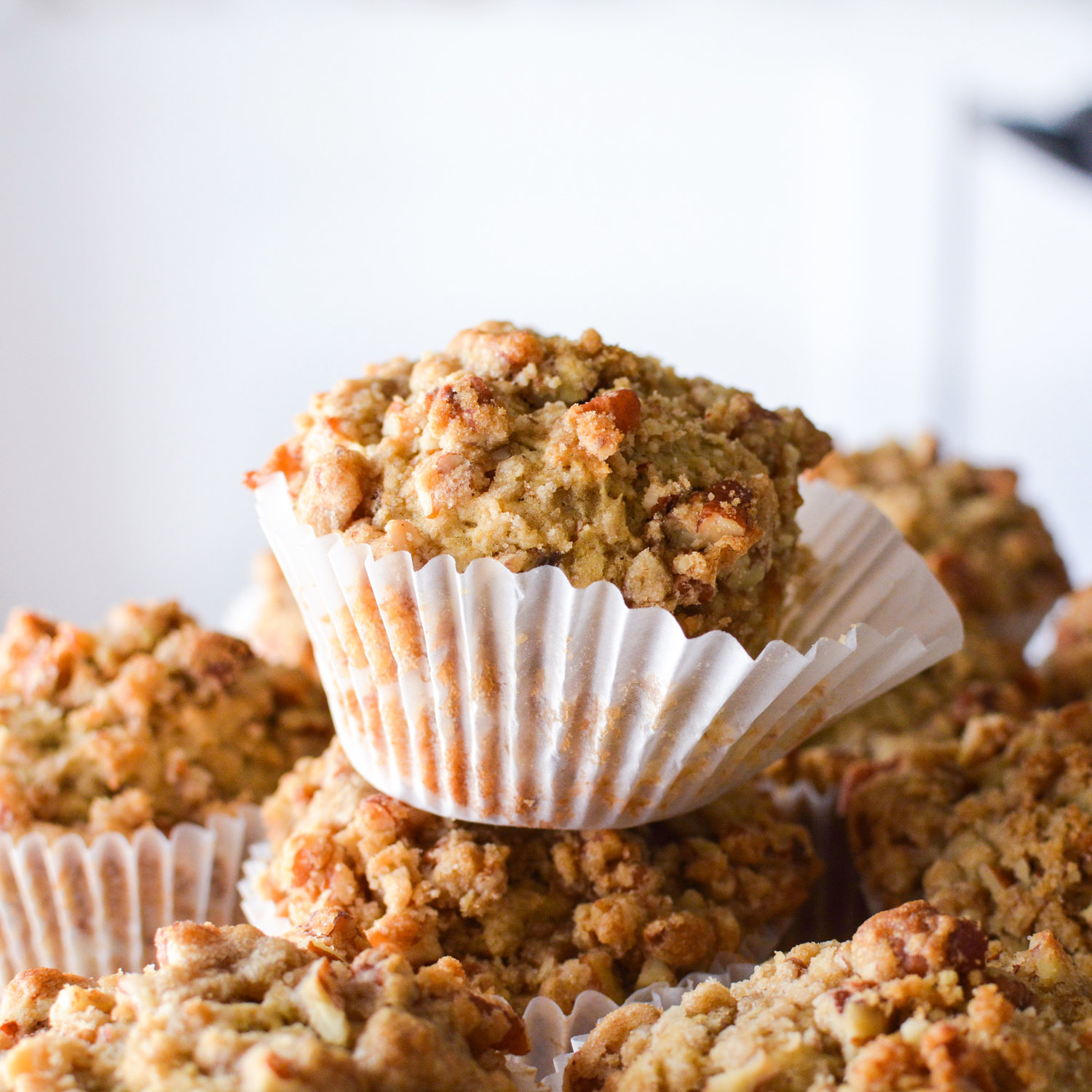 Caramelized Banana Muffins