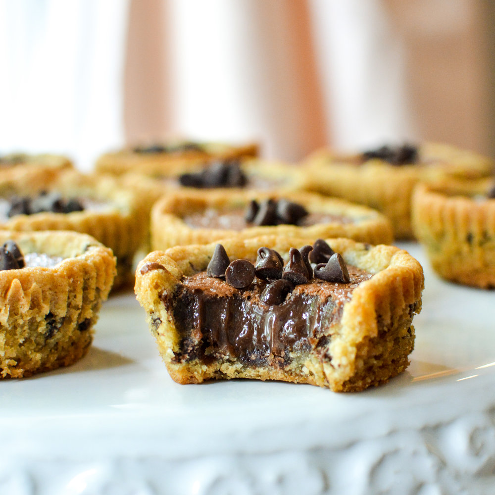 Fudge Filled Cookie Cups