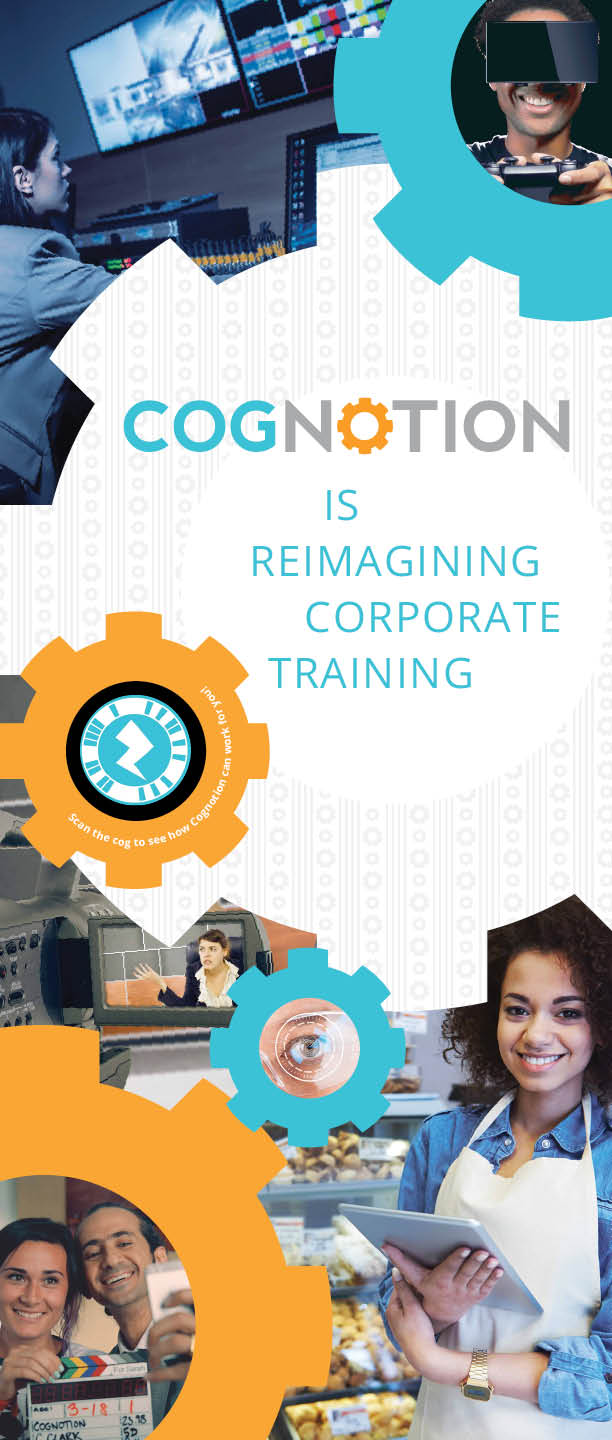 Cognotion roll-out trade show banner