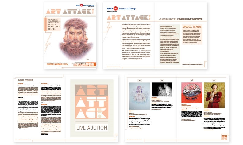 ArtAttack auction catalogue