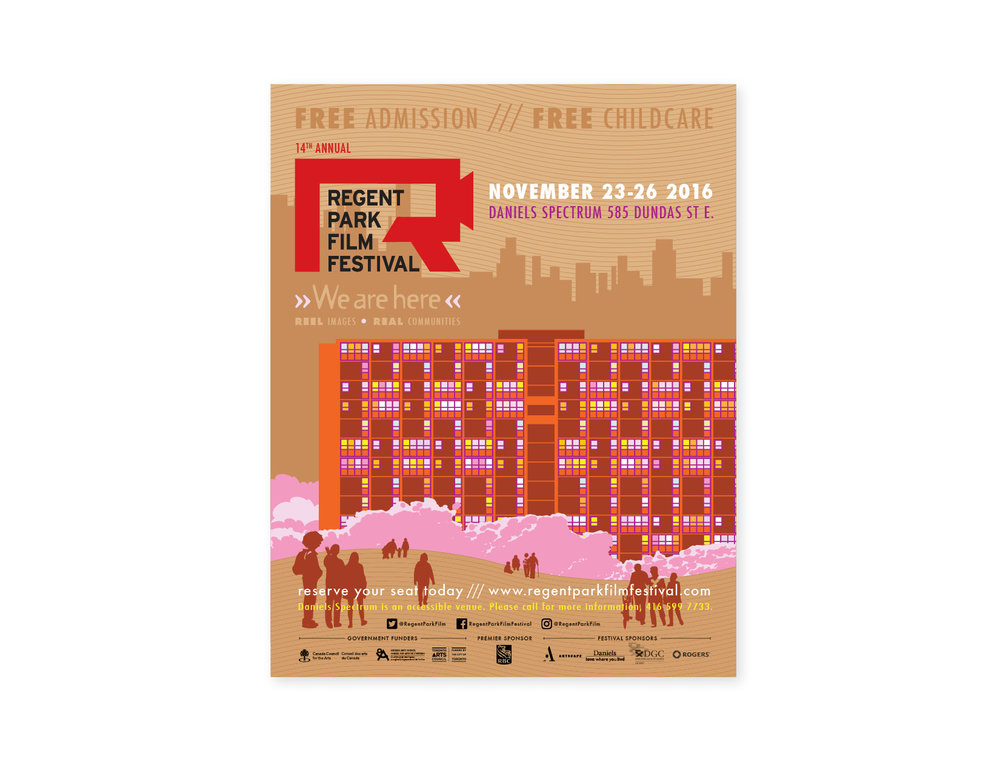 14th Annual Regent Park Film Festival poster