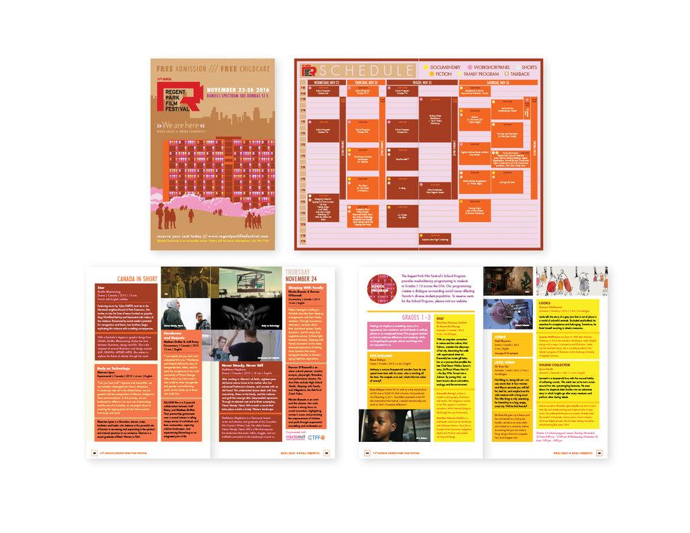 14th Annual Regent Park Film Festival Programme Booklet
