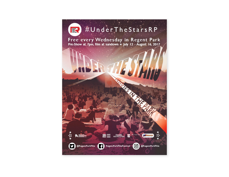 'Under The Stars' poster/flyer (front)