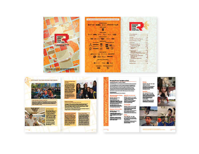 15th Annual Regent Park Film Festival guide