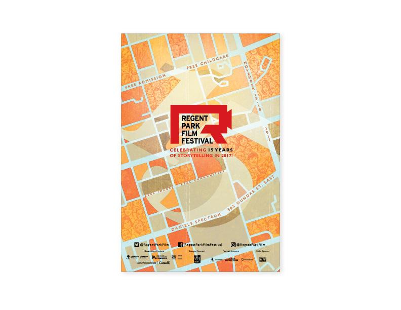 15th Annual Regent Park Film Festival Poster