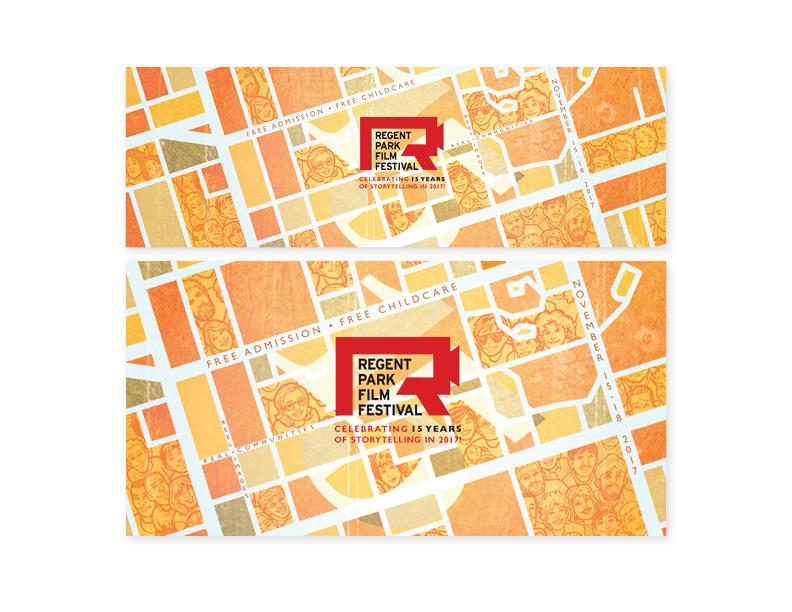 15th Annual Regent Park Film Festival social media assets