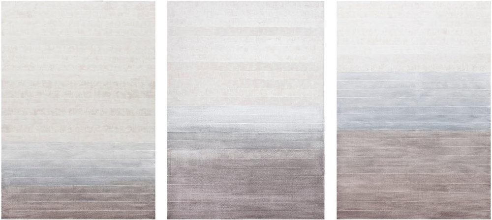 S-229, 189, 230  2017 oil on canvas 60 x 126 in.