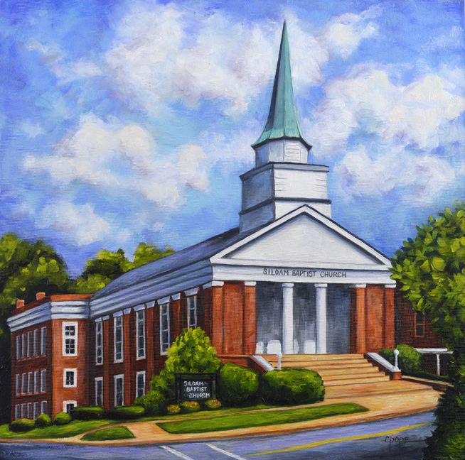 "Siloam Baptist Church <b><font color=""red"">   ●  </b></font>"