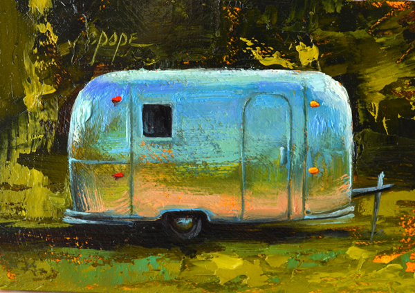 Mini Airstream, 2.5 x 3.5""