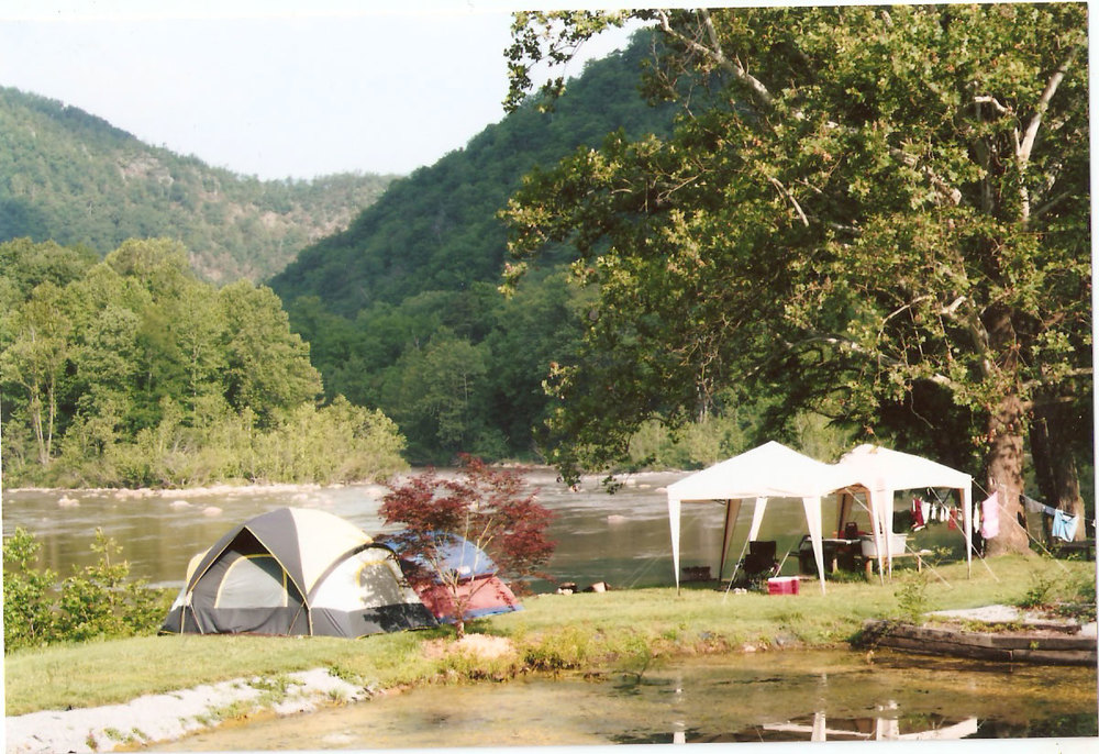 Nolichucky River Tent Camping