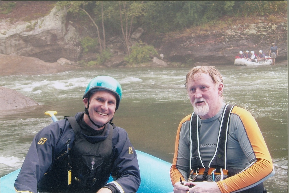 Rafting the Gauley River, West Virginia
