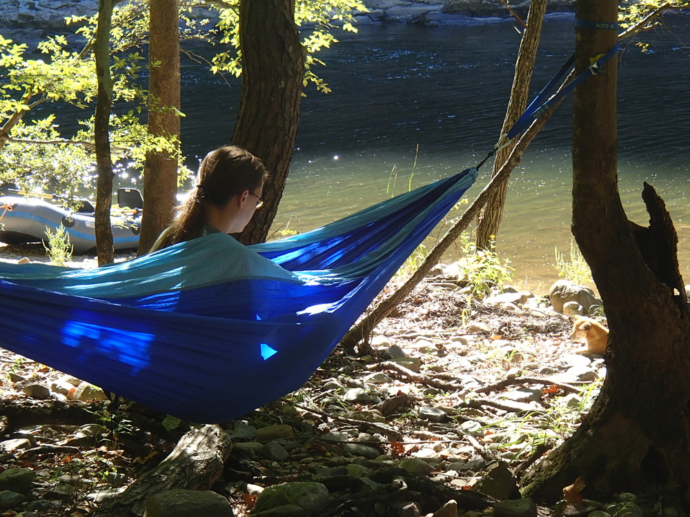 Bring your own hammock