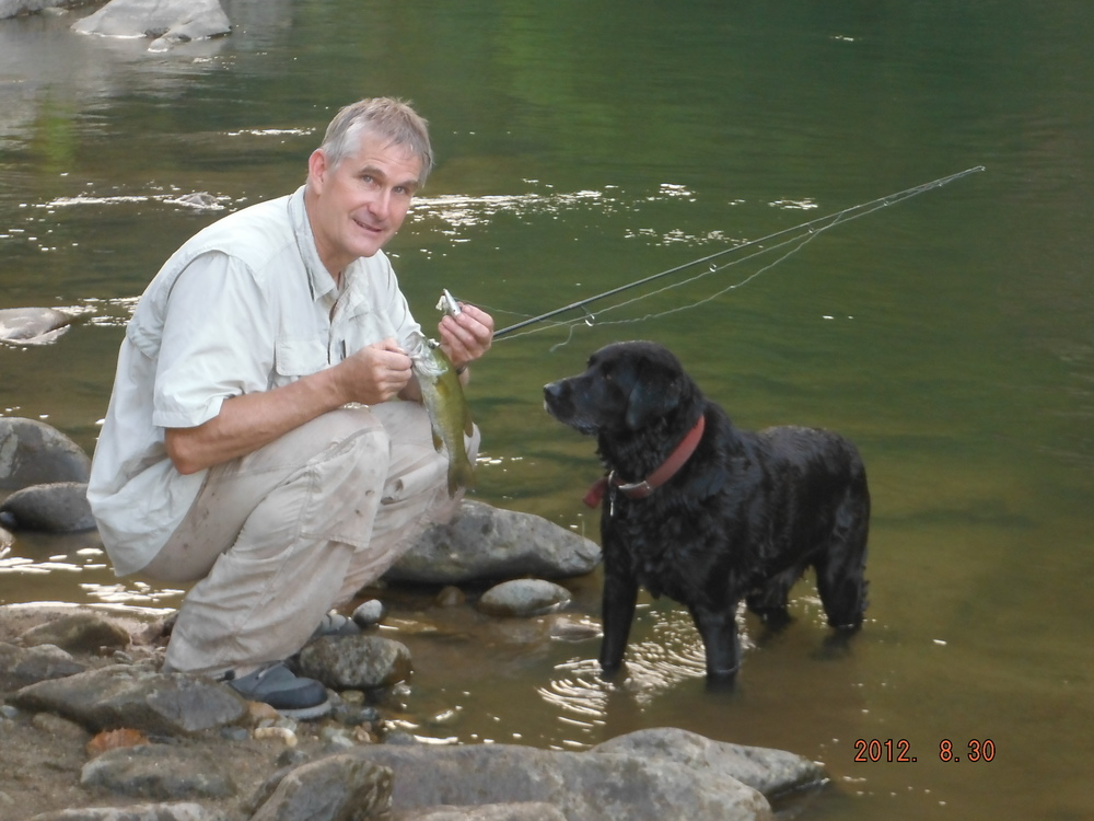 Fishing on the Nolichucky River