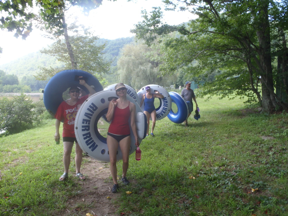 Grab your tubes and take a hike upstream