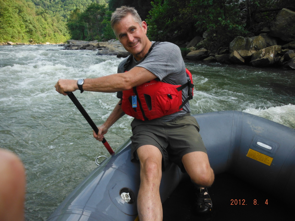 Rick the river guide