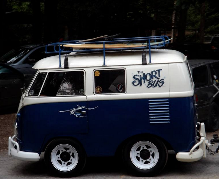 The cutest 'lil VW van ever!!