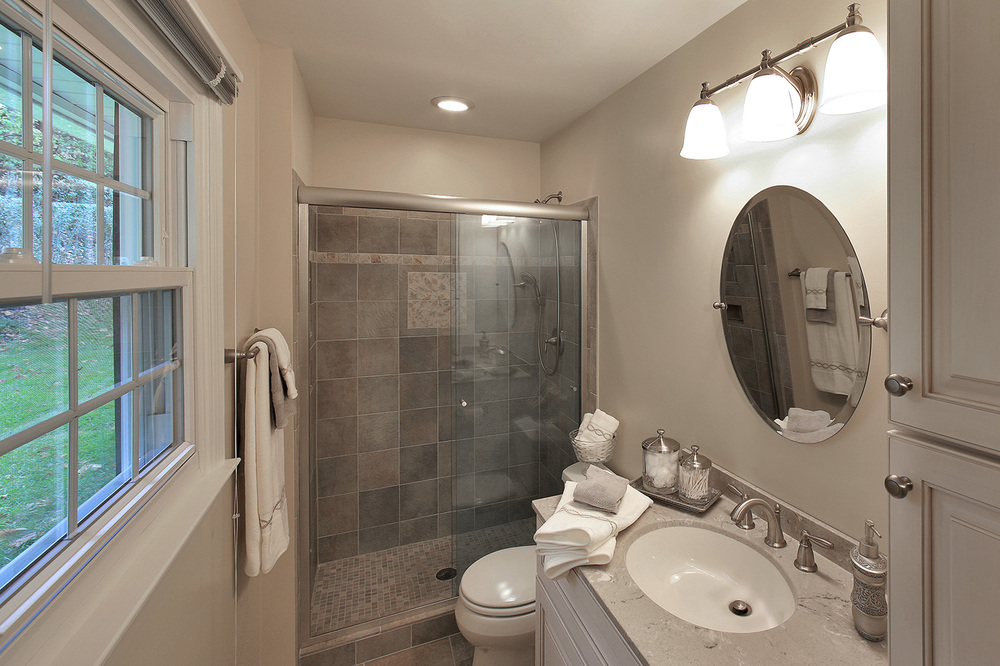 Small Master Bath Interior Transformations Residential Commercial D