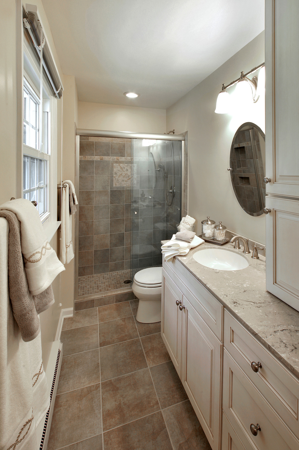 Small Master Bath By Interior Transformations
