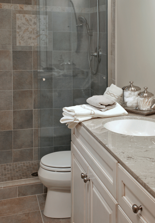 Small Master Bath  Interior Transformations Residential - Small master bathroom
