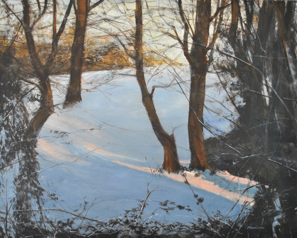 NM101 Copse in Winter acrylic on canvas.JPG