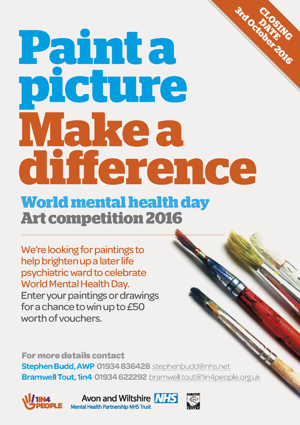 World Mental Health Day Art Competition 2016