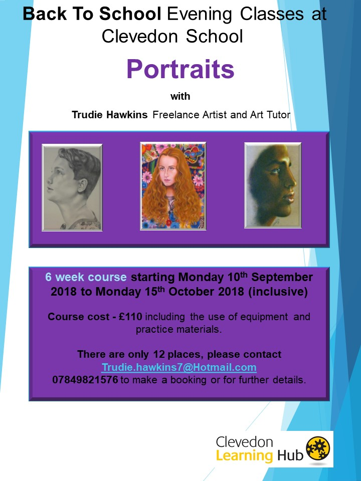 Portraits  Night Classes Sept Oct 2018 flyer.jpg