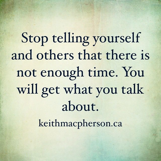 #keithmacpherson #dailyintention #time #thoughts #powerthoughts #intention #nofear #allow #bepresent