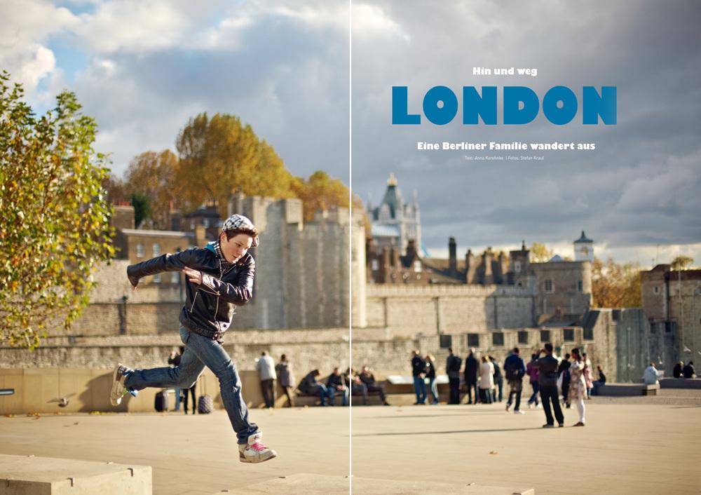 LONDON - HIN UND WEG - HIMBEER MAGAZIN