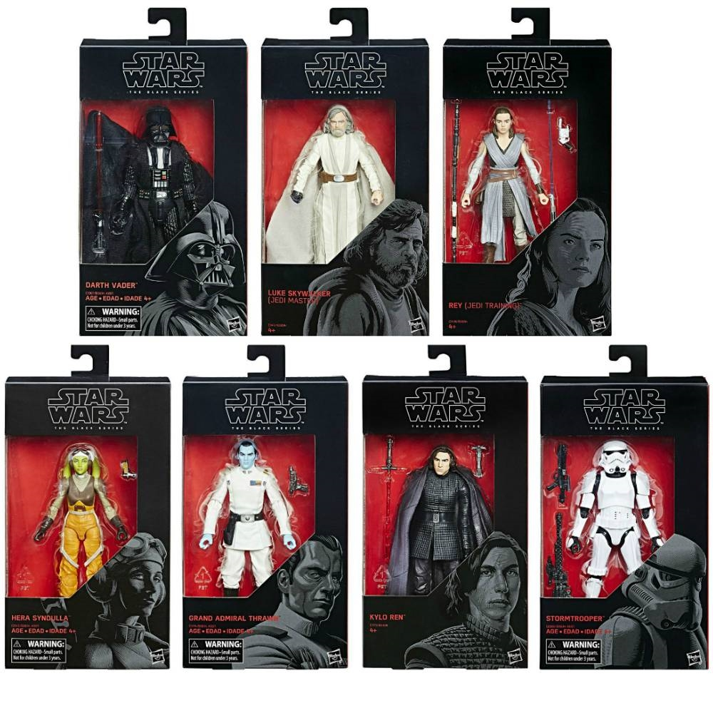 Star Wars Black Series Line