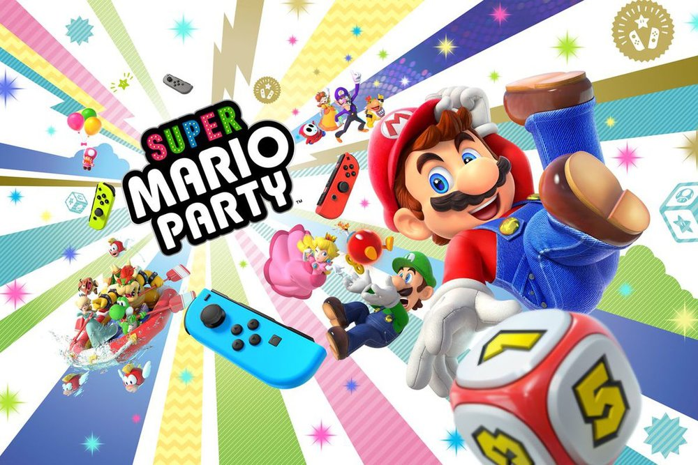 Super Mario Party Cover Art