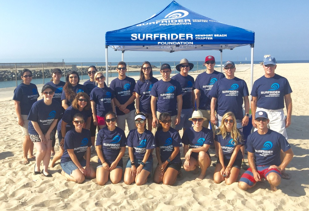 Surfrider Beach Cleanup • 2016