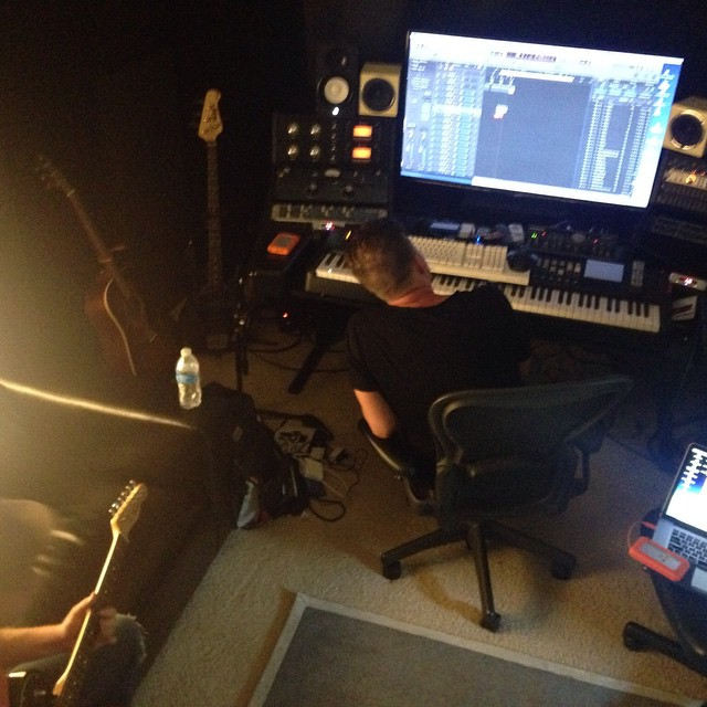 Working in the studio this week #JasonWalkerMusic #TeddT