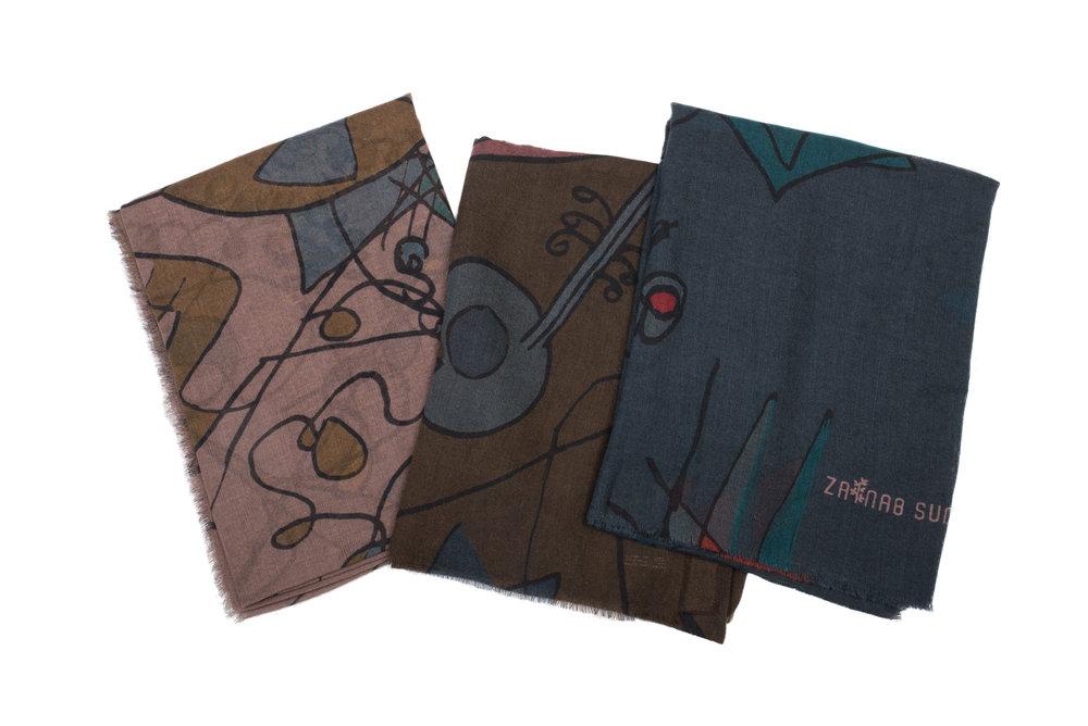 Gnawa Jadba-3 colors-100% Wool