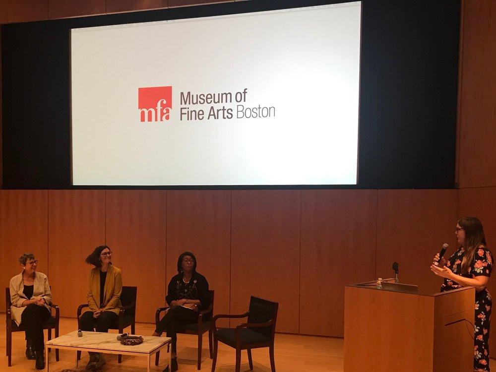10/2018 MASSfashion Symposium, MFA Boston