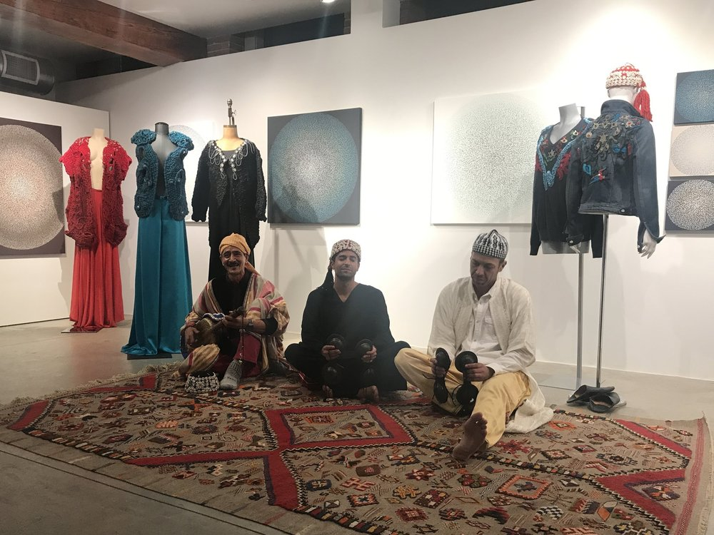 10/2018 Artisanal Collection Preview with members of Innov Gnawa
